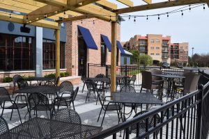 outdoor dining Addison